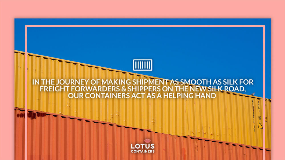 Shipping container Terminal | The New Silk Road - BRI  and OBOR