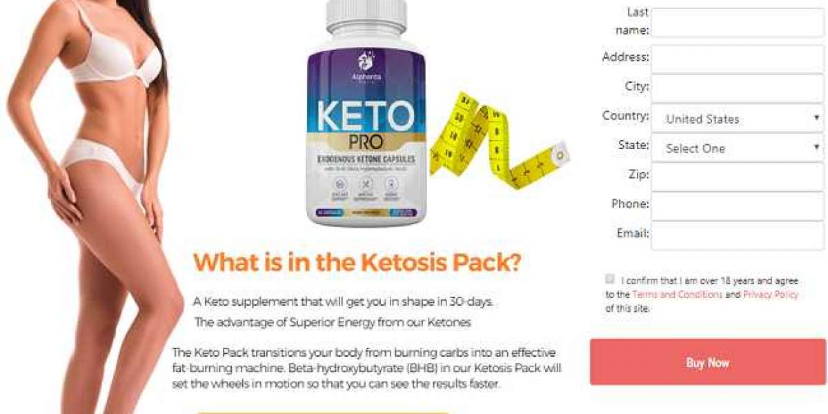 Keto Pro Diet Fat Burner - Support Healthy Weight Loss
