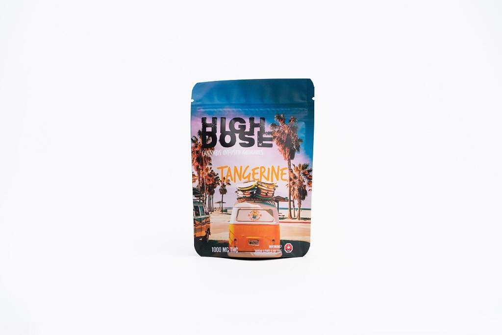 Buy High Dose - Tangerine 1000/1500mg THC Online - West Coast Cannabis