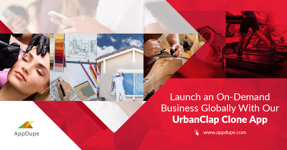 Accelerate your Urban Company clone app development with Appdupe
