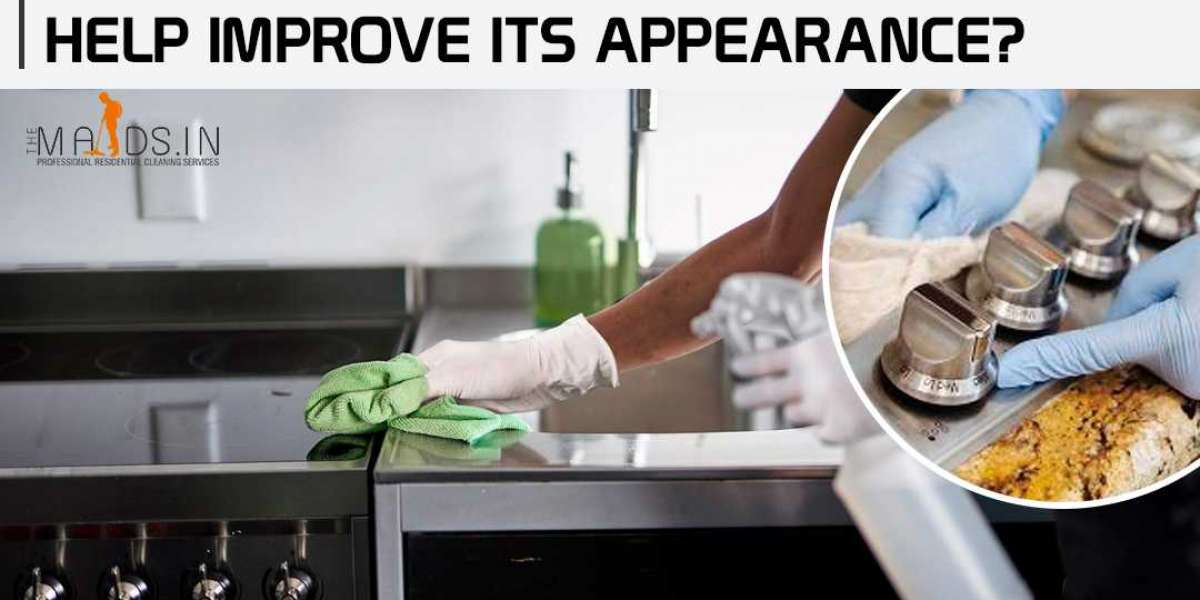 How the kitchen cleaning services help improve its appearance?
