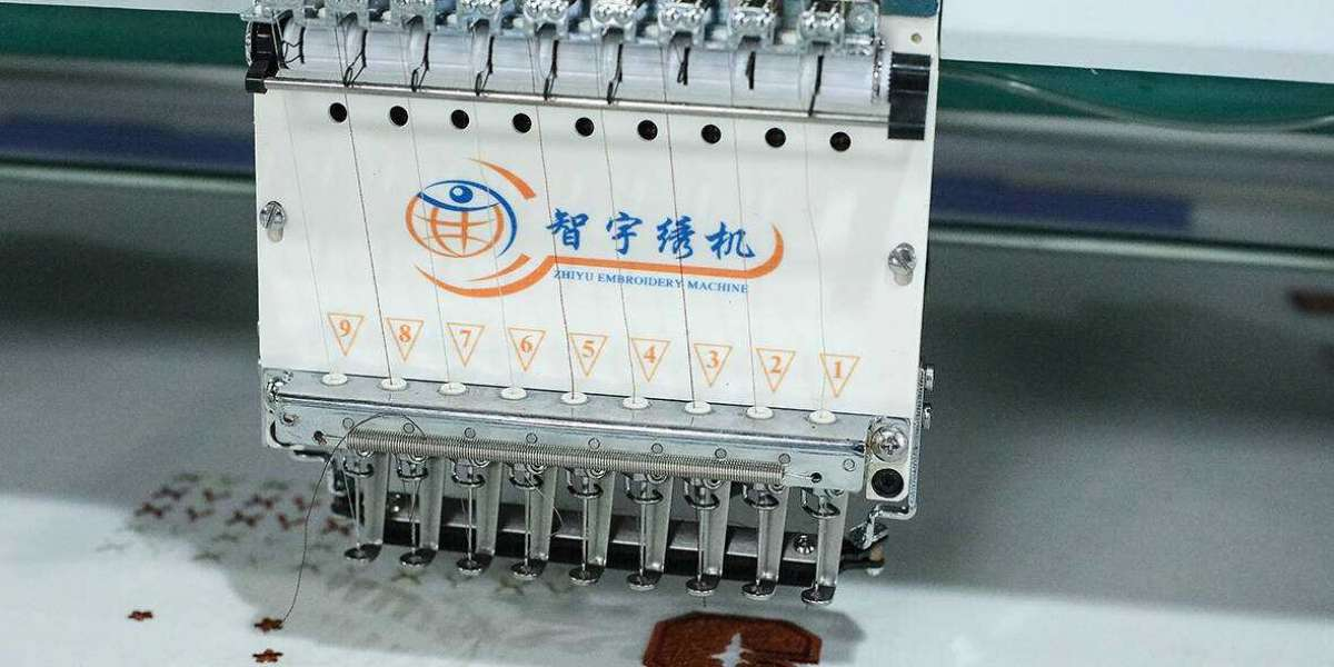 Analyze how to increase the value of embroidery machines