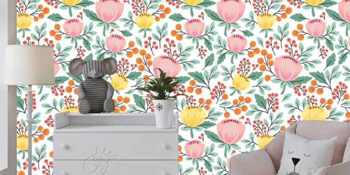 Special Removable Floral Wallpaper Online