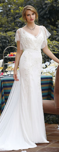 Philippines Simple Wedding Dress | Cocomelody®