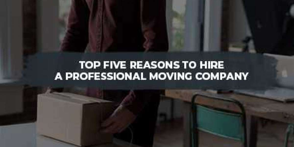 Top Five Reasons to Hire a Professional Moving Company