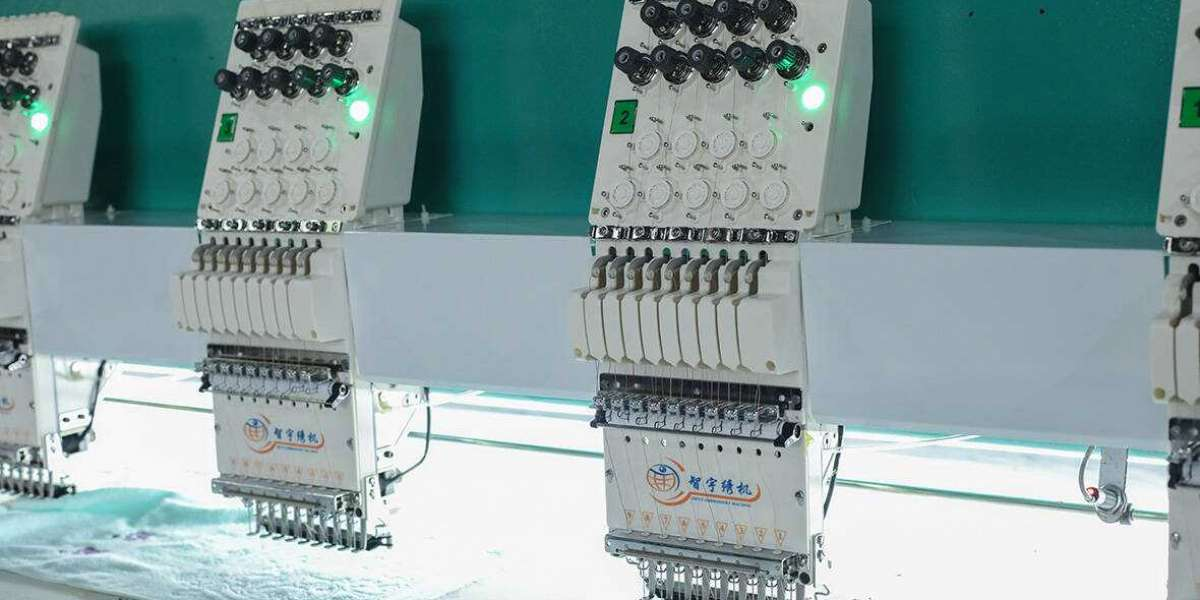 New development of embroidery machinery