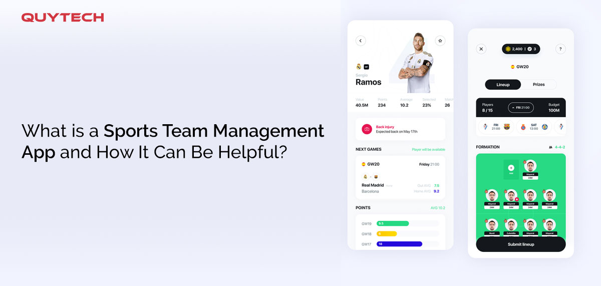 What is a Sports Team Management App and How It Can Be Helpful?