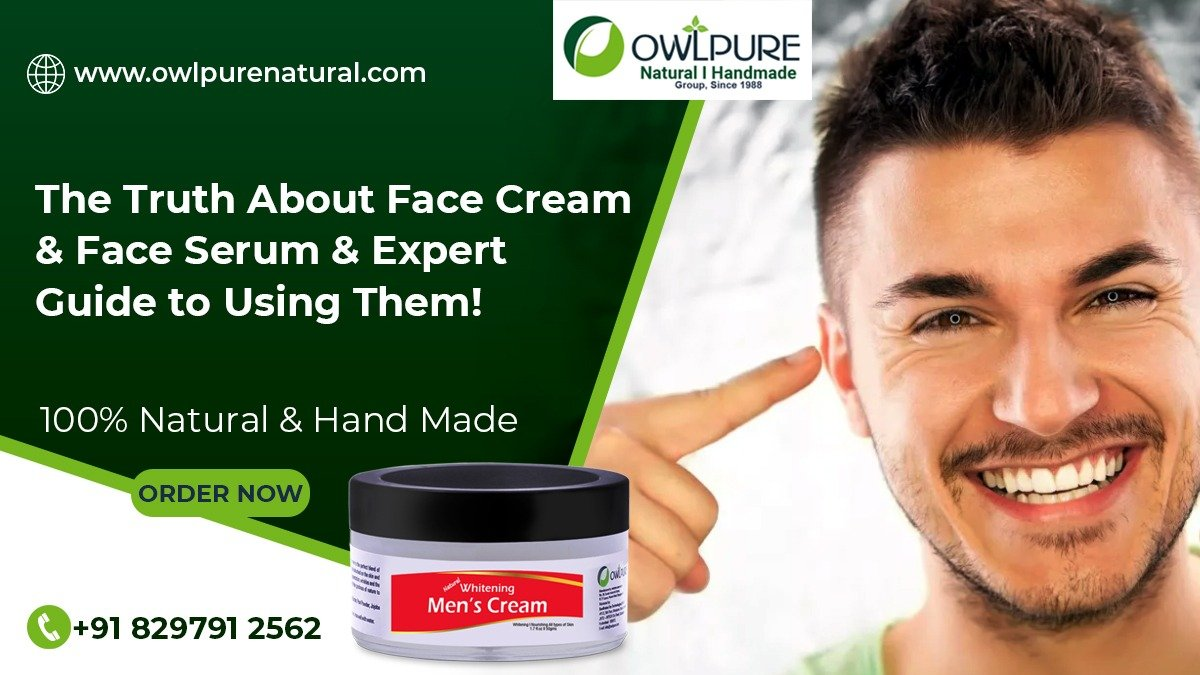 The Truth About Face Cream & Face Serum & Expert Guide to Using Them!                      – Owlpure Natural