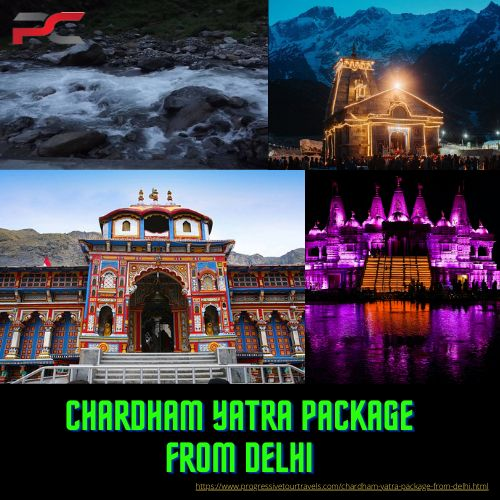 Pin on chardham Yatra Package From Delhi