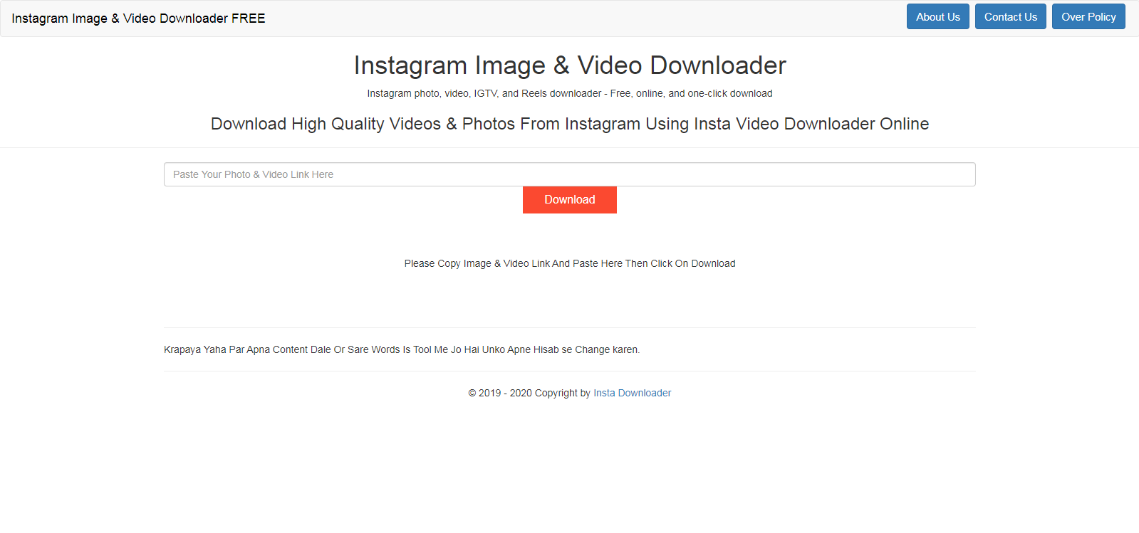 How To Download Instagram Video Online MP4 Full HD - Free Tools Online