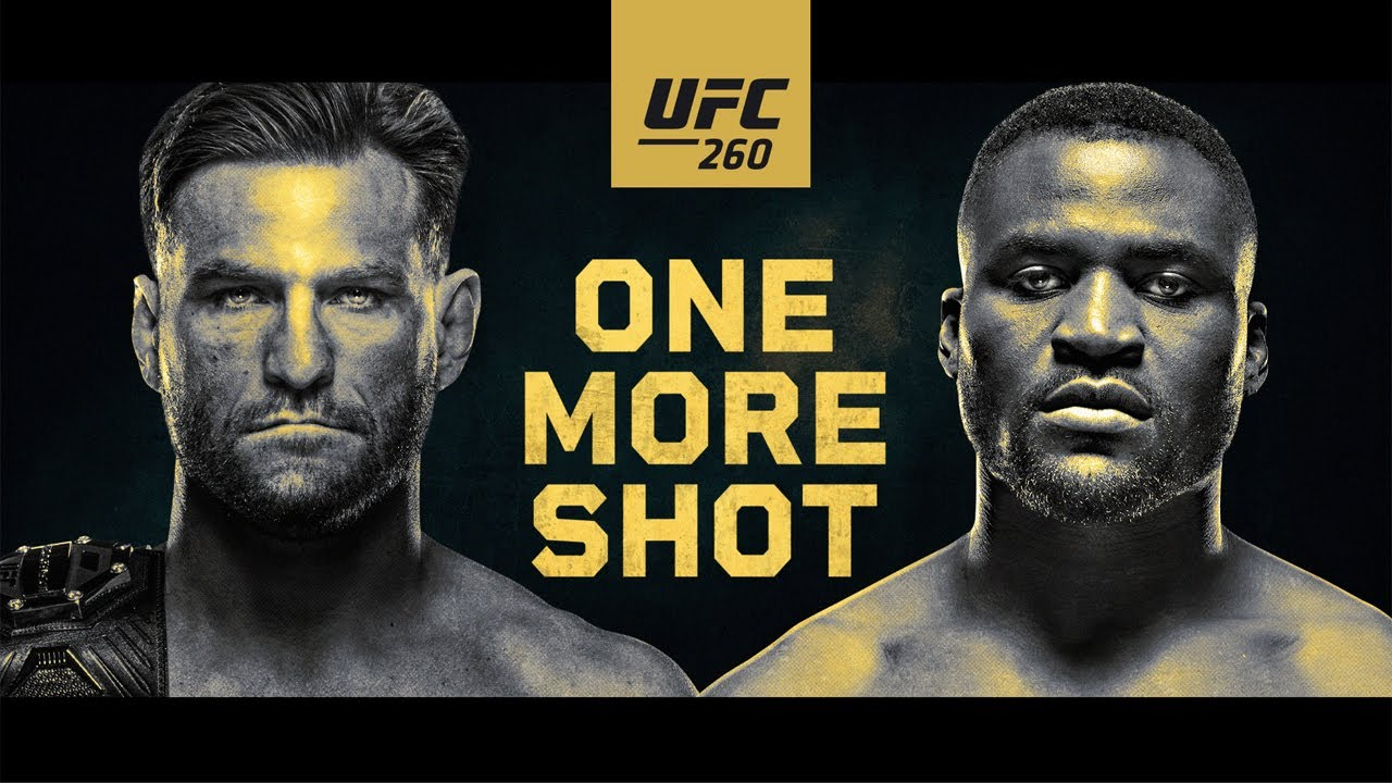 How to watch UFC 260, with the Miocic vs. Ngannou title fight, LIVE on television and internet