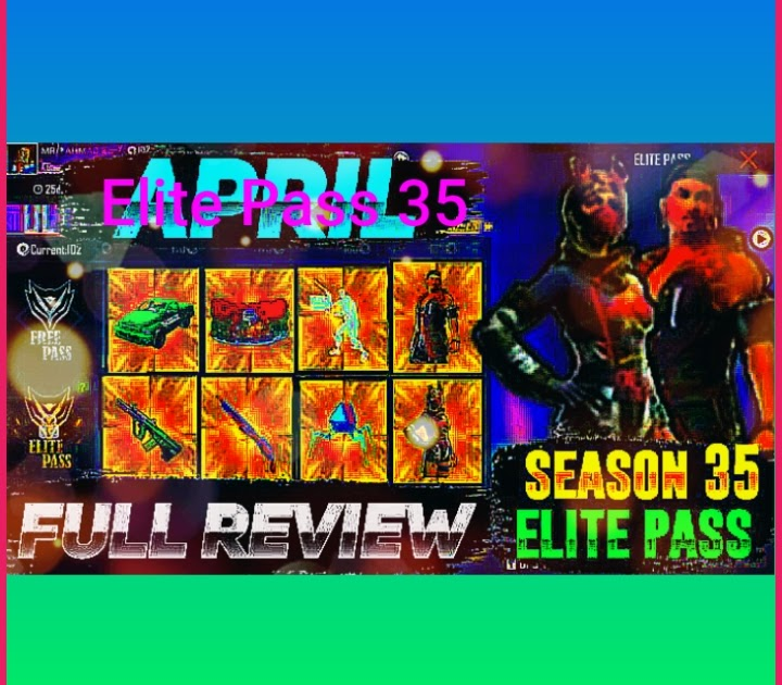 Free Fire Season 35 Elite Pass Leaked Rewards, delivery date, and then some