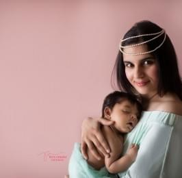 1st Birthday Shoot by the Best Baby Photographer in Delhi
