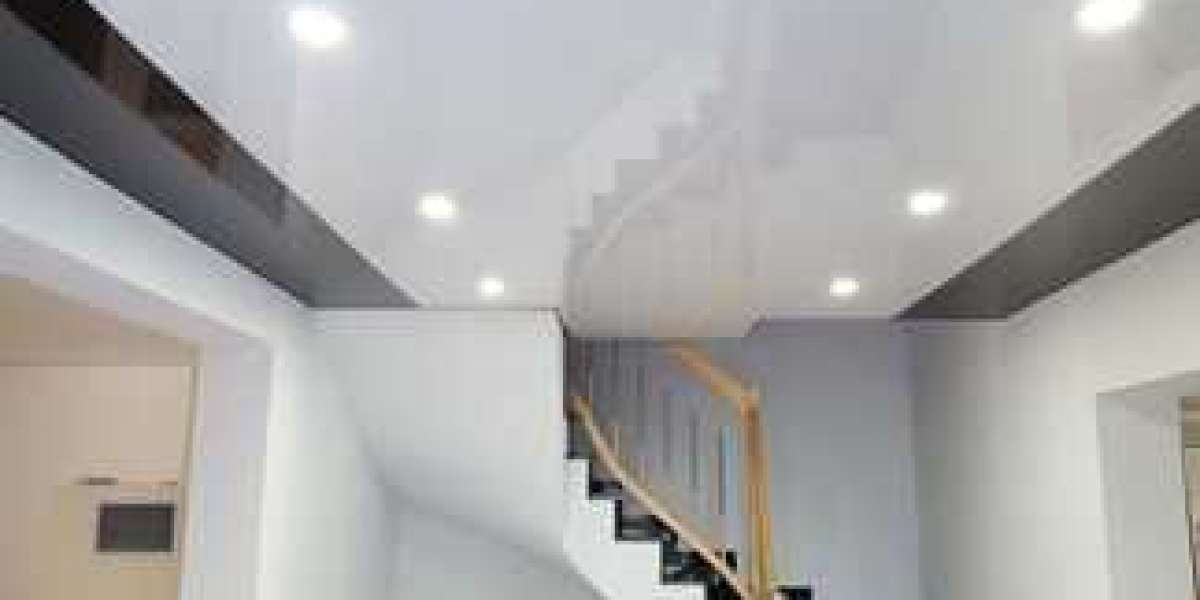 Dropped ceiling - what exactly is a stretch ceiling?