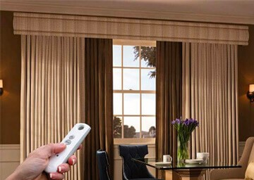 Motorized Curtains | Buy Electric Curtains | 99 Blinds