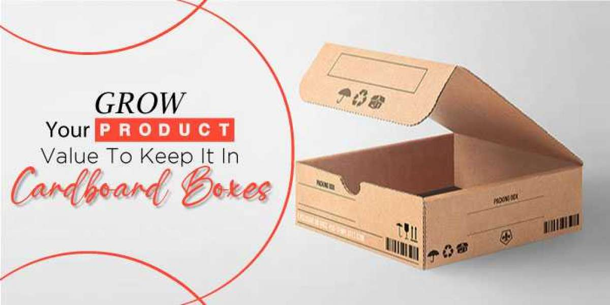 Grow your product value to keep it in cardboard boxes
