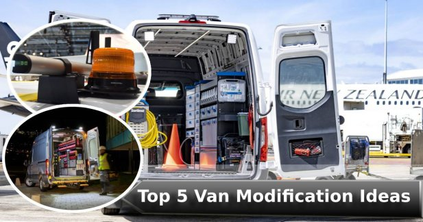 Van Racking - Top 5 Van Modification Ideas Article - ArticleTed -  News and Articles