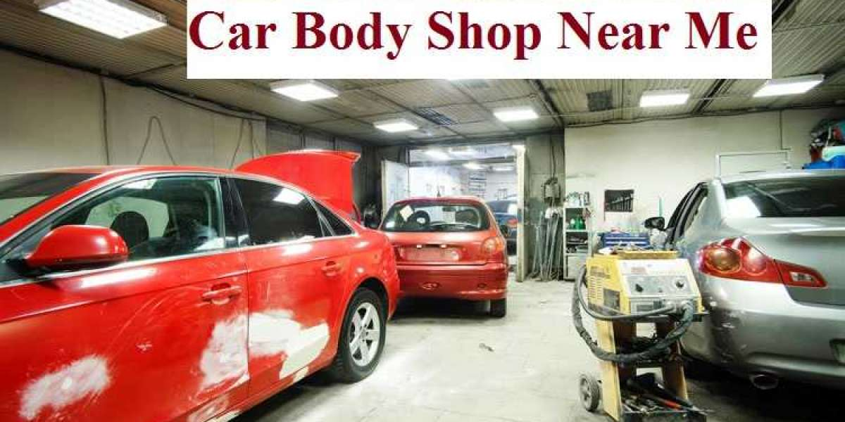 The Car Body Shop near Me & My Findings of It!