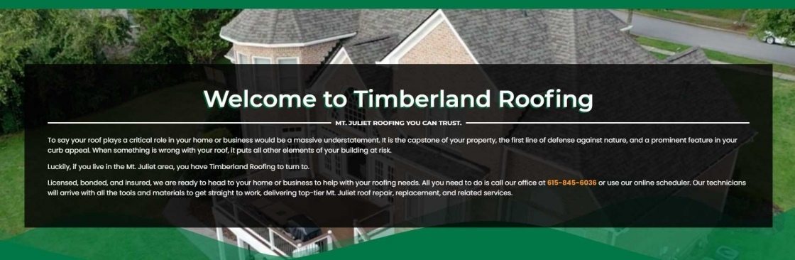 TImberland Roofing Cover Image