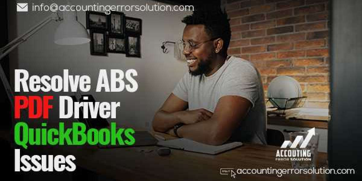 Best Steps to Resolve ABS PDF Driver QuickBooks Issues