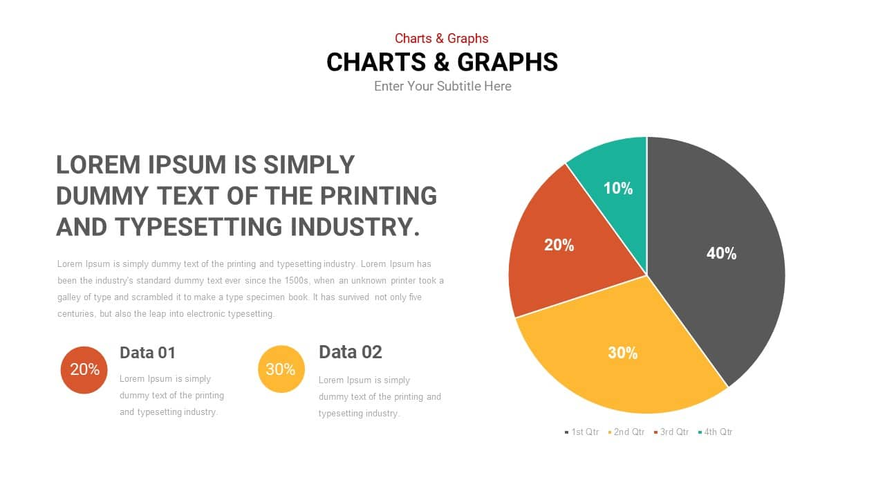 Chart templates for Google Slides and PowerPoint | Slideheap