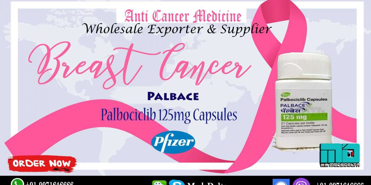 Palbociclib Capsules Price Wholesale Online | Palbace 125mg Exporter India