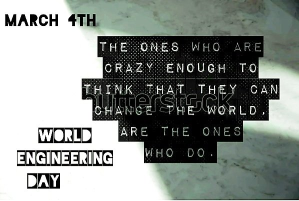 World Engineering Day For Sustainable Development 2021 | Crack Your Target