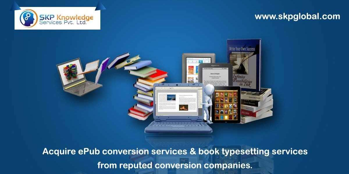Acquire EPUB conversion services & book typesetting services from reputed conversion companies