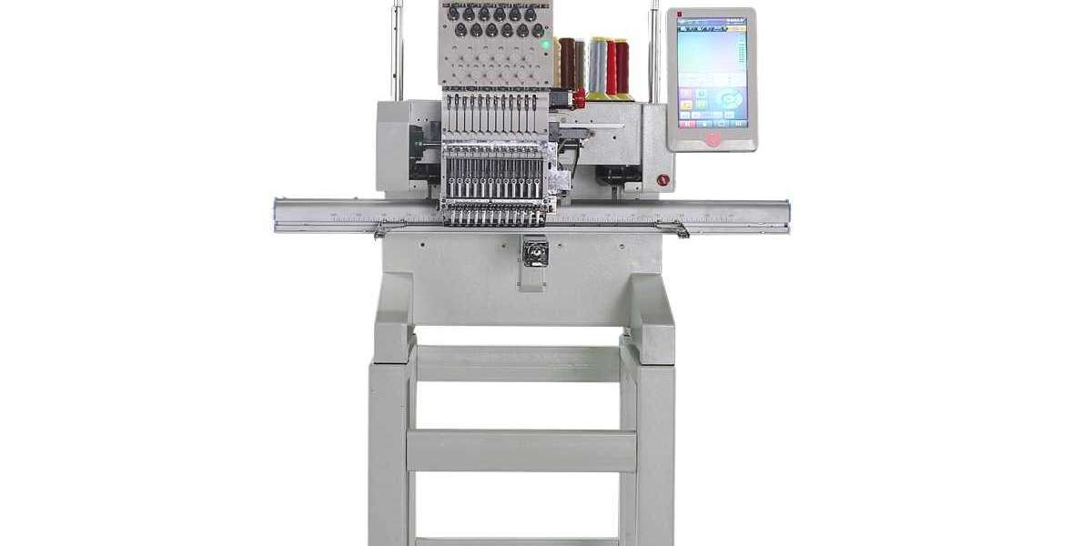What are the characteristics of a towel embroidery machine?
