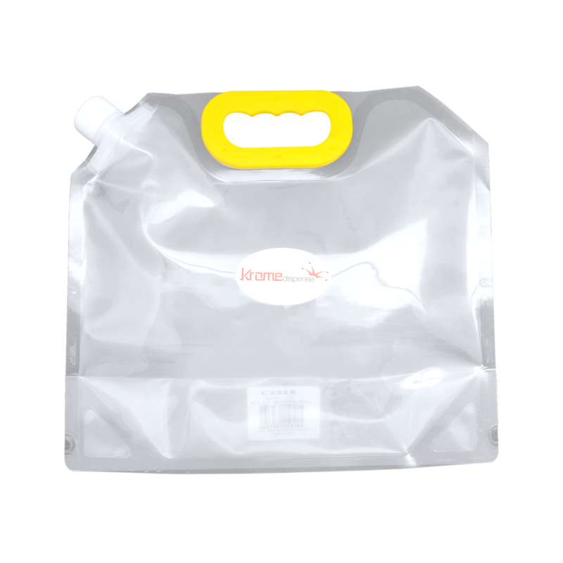 Beer Bags - Krome Brew    Capacities 1.5 L, 2.5 L and 5 L