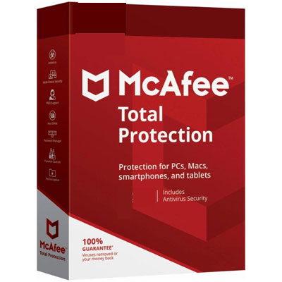 Buy McAfee Total Protection 2019 - Softwarestaples