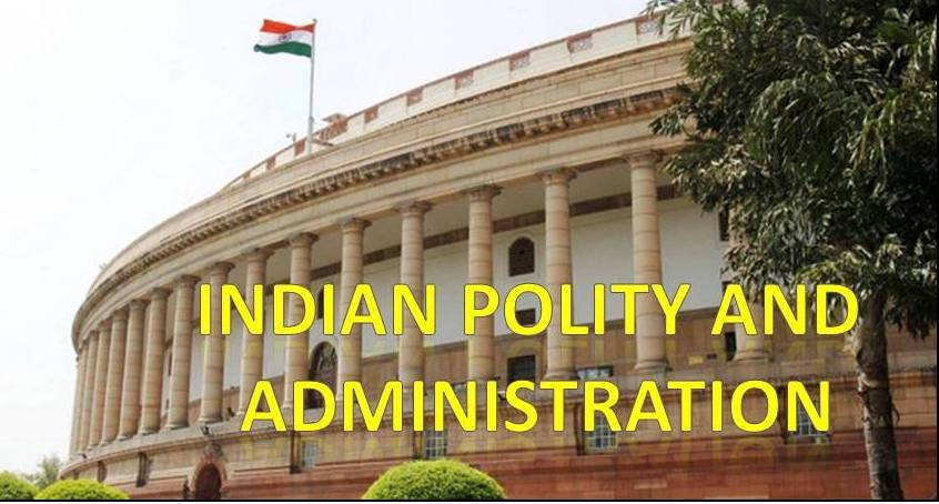 Indian Polity and Administration in Hindi