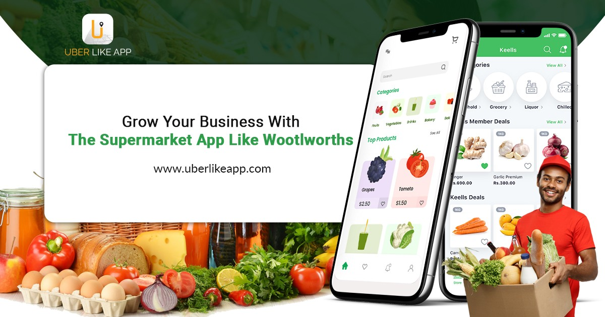Woolworths Clone: Launch Your Supermarket App Like Woolworths