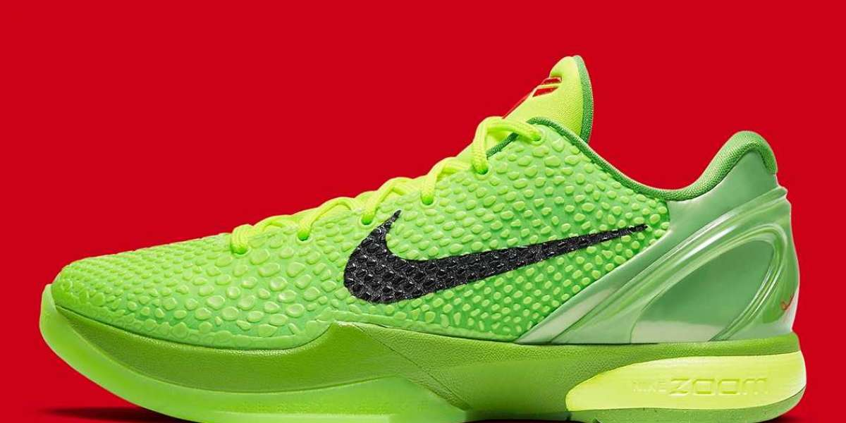 "2021 Hot Sale Nike Zoom Kobe 6 Protro ""Grinch"" CW2190-300"