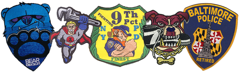 Custom Made Embroidered Patches | Americanpatchandpin