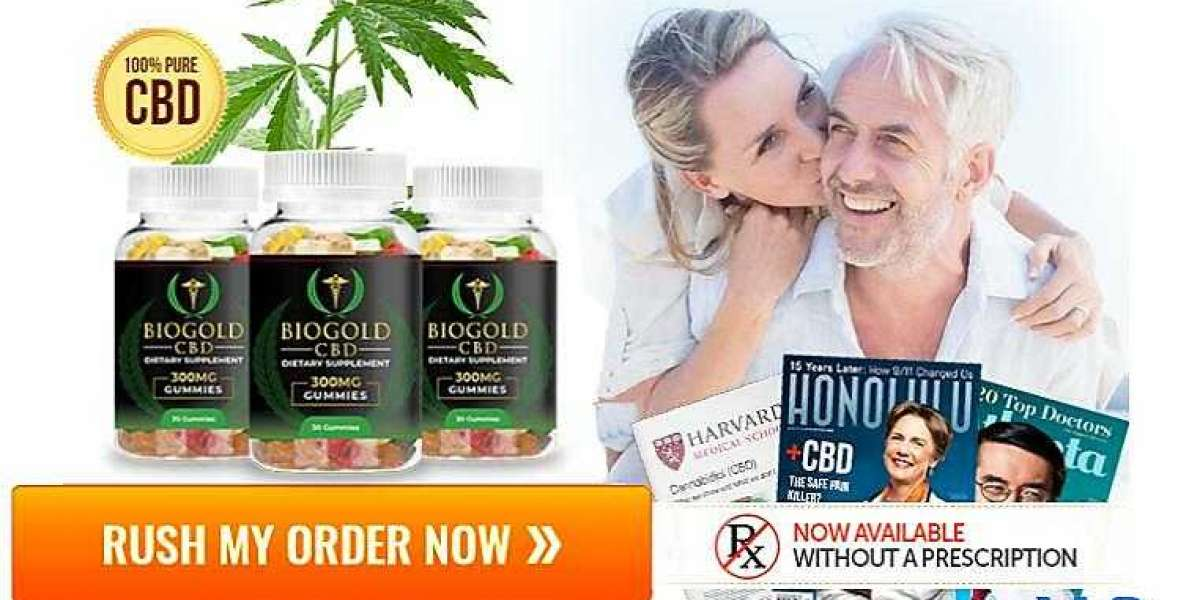 BioGold CBD Gummies Reviews: [Anxiety Stress Pain-Free] CBD Gummies