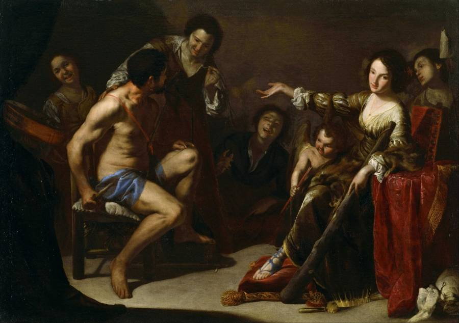 Hercules and Queen Omphale