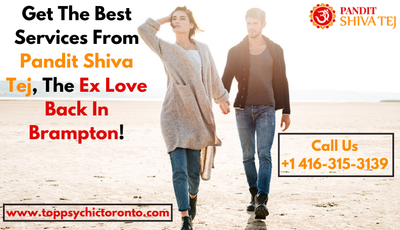 Restore Peace In Your Love By Consulting A Specialist Who Can Get Love Back Ontario - Top Psychic Toronto - Pandit Shiva Tej Ji