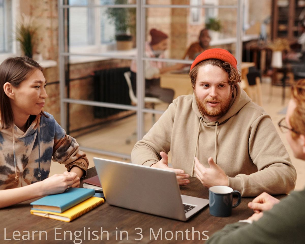 Learn English in 3 months and be fluent in speaking – Learn English