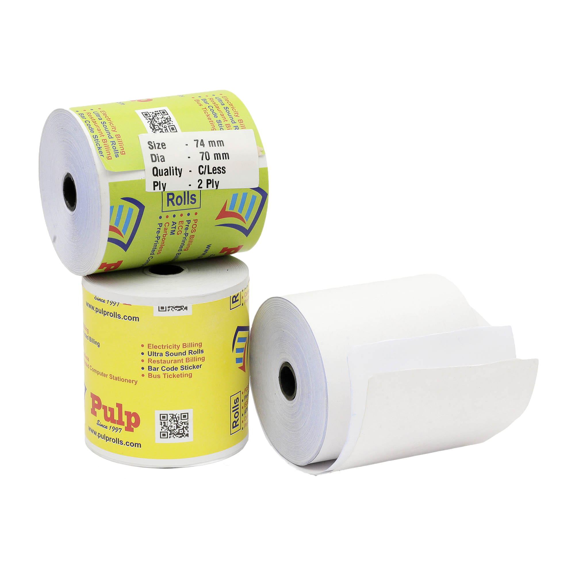 Thermal Paper Rolls Manufacturers in India | POS Printing Paper Rolls