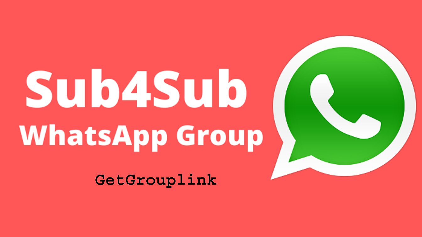 New Sub4Sub WhatsApp Group Link 2021 Group Invite Link Date4Zone