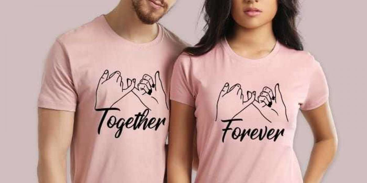 Go in trend along with your partner with couple t-shirts online