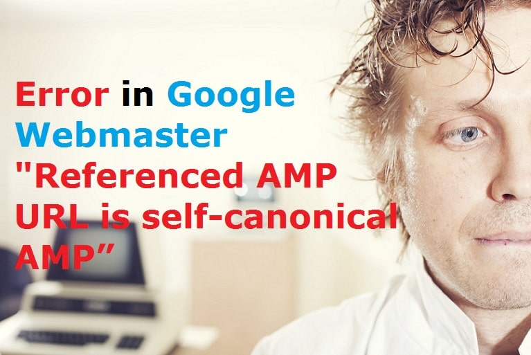 """Referenced AMP URL is self-canonical AMP"""" Error in Google Webmaster"""