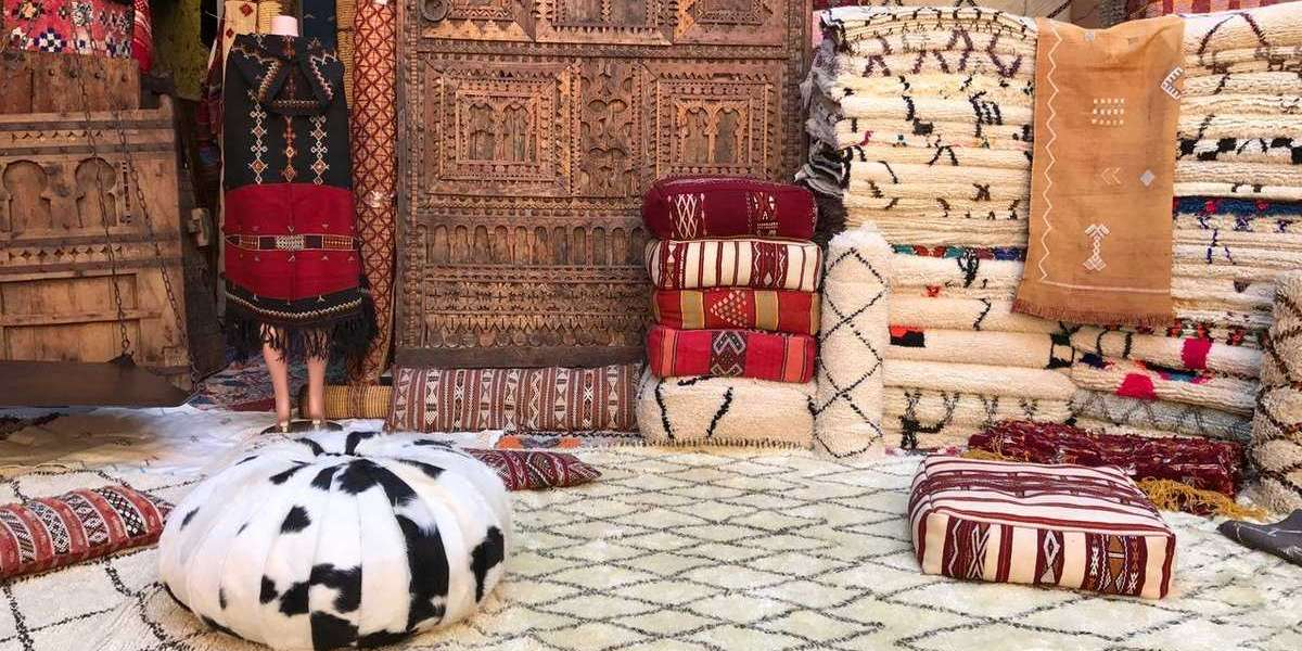 The Quality Of Moroccan Rug Black And White