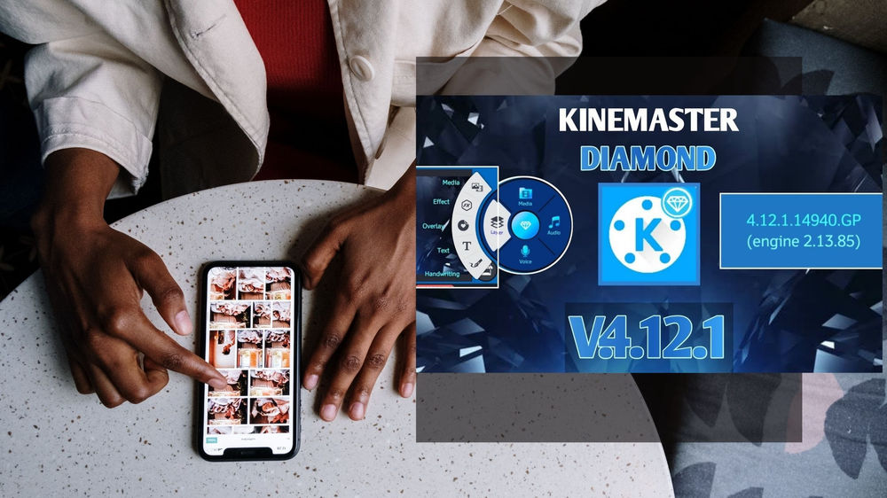 Kinemaster diamond apk without watermark For Android