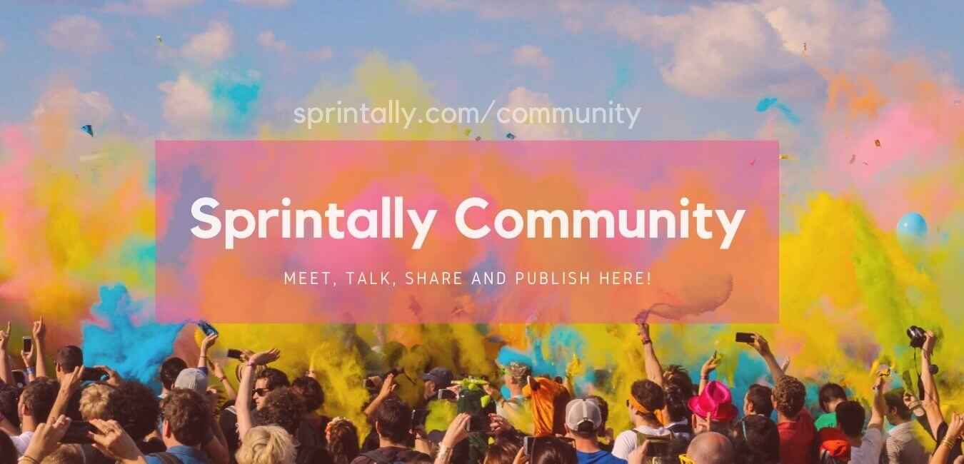 Sprintally - Meet, Talk, Share and Publish here!