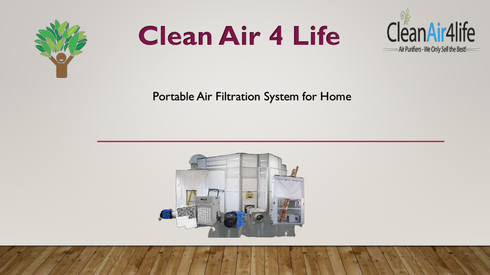 Portable Air Filtration System for Home  | edocr
