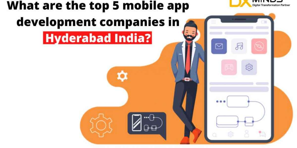 What Are The top 5 Mobile App Development Companies in Hyderabad India?