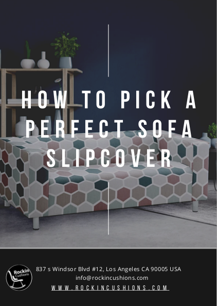 How To Pick A Perfect Sofa Slipcover | edocr