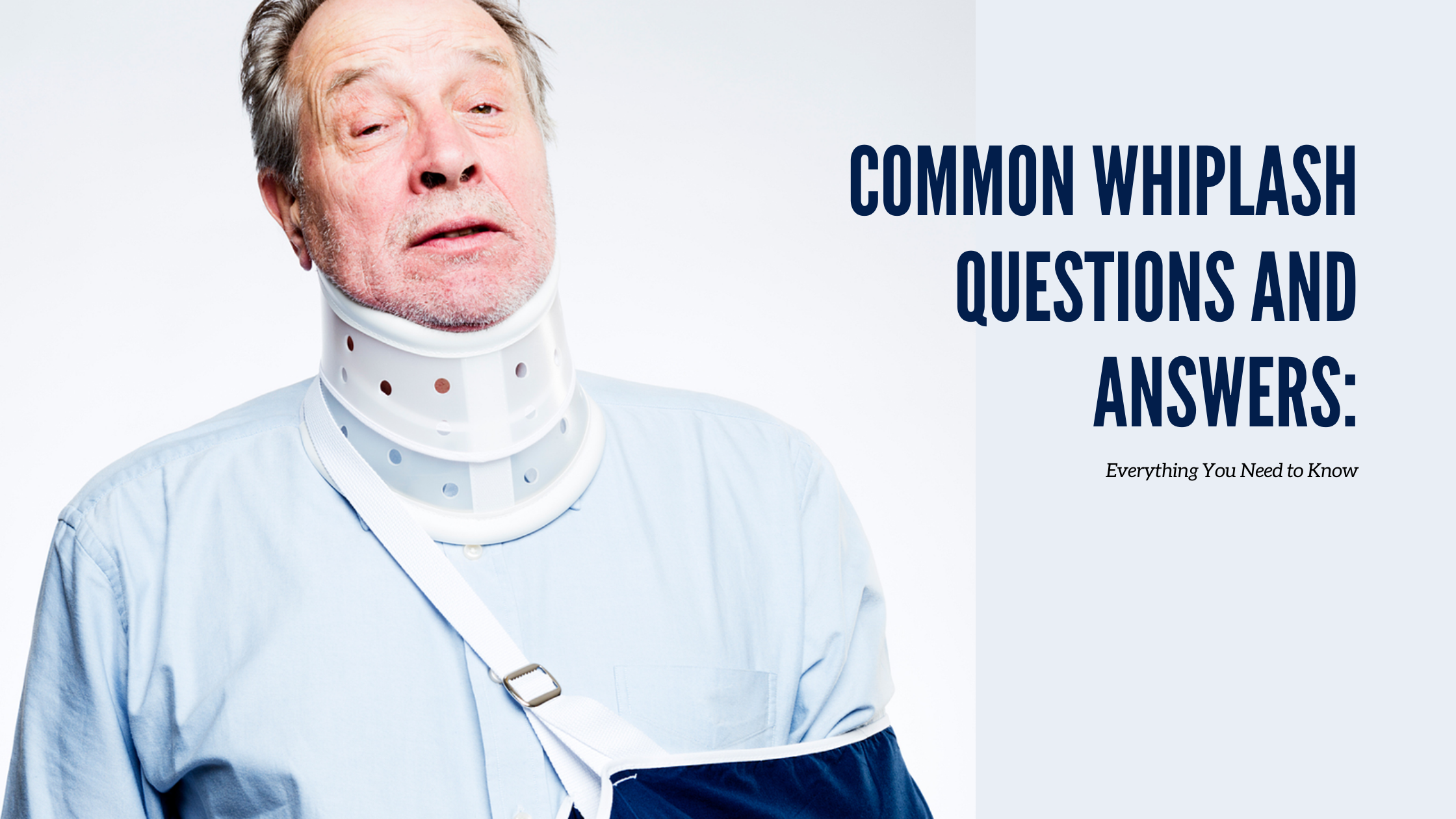 Common Whiplash Questions and Answers: Everything You Need to Know - Ascent Pain & Injury Specialists